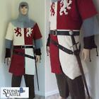 Medieval Lionheart Gambeson. Perfect for Stage & Costume, Re-enactment or LARP