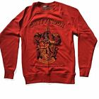 HARRY POTTER - GRYFFINDOR SHIELD  - OFFICIAL WOMENS SWEATER (JUMPER)