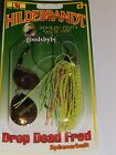 HILDEBRANDT DROP DEAD FRED SPINNERBAIT,  1 2 OZ. NEW,  CHOICE OF SKIRT COLORS,  NEW