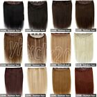 160g 200g one piece clip in 100% remy human hair extensions full head set THICK!