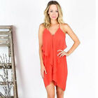 Fashion Summer Casual Women Spaghetti Strap Beach Loose Ladies Dress Sexy A