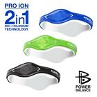 2 in 1 Ion hologram bracelet power balance energy sport wristband 3 size 5 color