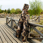 0.8 M/1.2 M Outdoors Double Layer Fishing Rod Tackle Bag Desert Camouflage Bag