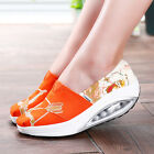 Fashion Summer Sport Athletic Patchwork Print Leisure Ventilation Single Shoes A