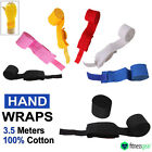 Pro MMA Boxing Hand Wraps Inner Punch Bag Gloves Bandages Wrist Cotton Straps