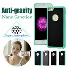 Anti gravity nano technology magic selfie case back cover for samsung iphone