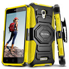 Alcatel OneTouch Fierce 4 Case, Evocel Rugged Holster Case w/ Kickstand & Clip