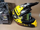 New 2017 Fly Rockstar Helmet Dragon Goggles Motocross Road Legal  S M L XL