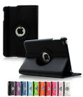 For Apple iPad 2 3 4 360 Rotating Folio PU Leather Case Smart Stand Cover
