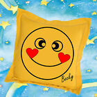 Personalised Emoji Cushion Cover or Pillow Case Choose from 7 designs - Fab Gift