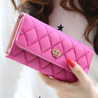 Fashion Women Lady PU Leather Clutch Wallet Long Card Holder Purse Handbag