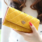Fashion Women Lady PU Leather Clutch Wallet Long Card Holder Purse Handbag фото