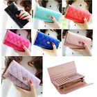 Kyпить Fashion Women Lady PU Leather Clutch Wallet Long Card Holder Purse Handbag на еВаy.соm