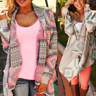 Women Cardigan Loose Sweater Knitted  Long Sleeve Cardigan Outwear Jacket Coat