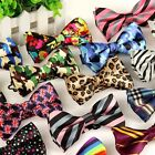 NEW Men's ADJUSTABLE POLYESTER WEDDING CASUAL PARTY Bow Tie