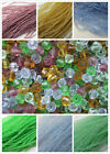 1000 x 4mm Crystal Glass Bicone Beads 8 Colurs 12 Strands Craft Jewellery Making