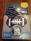 NEW Toddler Boys Gerber Training Pants 2 Pack Football Stripe Blue - Size 2T-3T  image