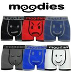 3 Pairs Mens Moodies Seamless Boxer Shorts Trunks Briefs Adults Underwear