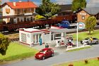 Faller 131258 - Service Station Plastic Kit  'H0' Gauge= 1/87 Scale T48 Post