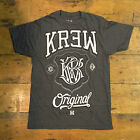 Krew Champ tee - Charcoal Casual T-Shirt New  - Size: S / M