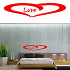 Sticker vinyl cut MURAL Bedroom and another sites. LOVE. Decoración CABECERO.