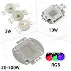 High Power 3W 5W 10W 20W 30W 50W 100W LED Chip COB Beads RGB Full Color lamp SMD