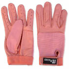 Leather Driving Gloves Soft Hand Protection Gloves Ladies Pink