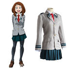 Boku No Hero Academia Ochako Uraraka Asui Tsuyu School Uniform Cosplay Costume