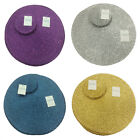 Metallic Effect Round (Circular) Placemat And Coaster Package Set (Pack Of 4)