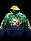 Christian Audigier Ed Hardy rhinestoned specialty hoodies NWT authentic items