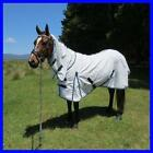 LOVE MY HORSE 3'3 - 4'6 Blue Poly Cotton Diamond Weave Cotton Ripstop Combo Rug
