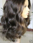 """14"""" 1b# Loose Body Wave 100% Indian Remy Human Hair Full Lace /Lace Front Wig"""