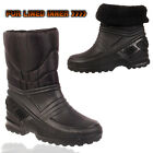 New Winter Kids Fur Lined Infants Baby Toddler  Warm Snow Boots Shoes UK 12-2