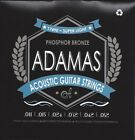 Adamas Akustik Gitarre Phosphor Bronze Saiten SATZ Acoustic Guitar Strings SET