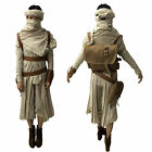 Star Wars VII The Force Awakens Rey Daisy Ridley Halloween Cosplay $175.99 AUD