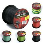 Burly Hard 300m10-100LB Dyneema 100%PE Spectra Braided Fishing Line 5 color Chic