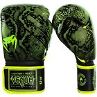 Venum Fusion Boxing Gloves MMA UFC Sparring Striking Yellow
