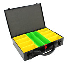 New Compartment System Case Metal Storage Screw Organiser Tool Box Suit Fixings