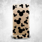 Mickey Mouse Disney Pattern Soft Silicone TPU Rubber Case iPhone 5 6 S 7 Plus 8