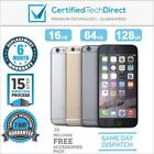 Apple iPhone 6 A1586 4G 16GB 64GB 128GB *GREAT CONDITION *6 Month Warranty