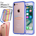 Clear Soft Ultra Thin TPU Bumper Frame Case Cover For iPhone 7/iPhone 7 plus