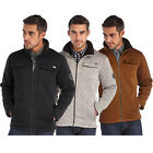 Regatta Pinaza Mens Full Zip Hi-Pile Knit Effect Fleece Jacket
