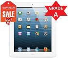 Apple iPad 4th WiFi Tablet RETINA | Black or White | 16GB 32GB 64GB 128GB (R)