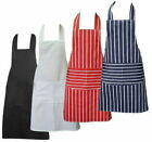 Professional Chefs Cooking Apron Catering Bib with Pockets BBQ KITCHEN APRONS