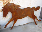 Large Metal Running Horse Lawn Decor Yard Accent