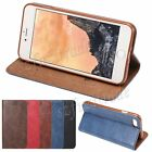 New Ultra Slim Smooth PU Leather Wallet Case Cover Shell For iPhone 7 Plus 5.5''