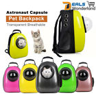 Breathable Astronaut Capsule Transparent Dog Cat Pet Backpack Carrier Travel Bag