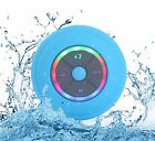 Wireless Bluetooth Speaker Suction Shower Waterproof LED iPhone Samsung W/Mic