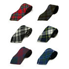 Scottish Men's Ties by Ingles Buchan- 100% Wool - Large Selection