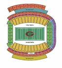 2nd ROW! TWO TENNESSEE VOLS vs. GEORGIA BULLDOGS FOOTBALL TICKETS